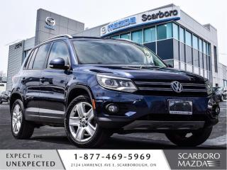 Used 2013 Volkswagen Tiguan AWD|POWER SUNROOF|LEATHER|BLUETOOTH|1 OWNER for sale in Scarborough, ON