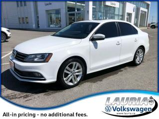 Used 2015 Volkswagen Jetta 2.0L TDI Highline w/Tech - FINANCE FROM 1.9% for sale in PORT HOPE, ON