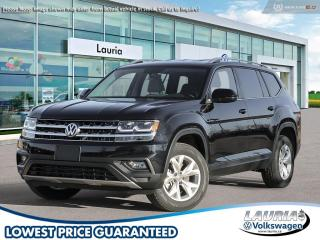 New 2019 Volkswagen Atlas 3.6 FSI Comfortline 4Motion AWD for sale in PORT HOPE, ON