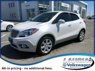 Used 2015 Buick Encore Premium AWD for sale in PORT HOPE, ON