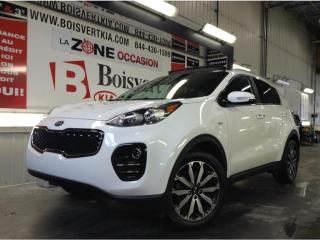Used 2017 Kia Sportage SPORTAGE EX TECH AWD INT CUIR BRUN TOIT PANO ! for sale in Blainville, QC