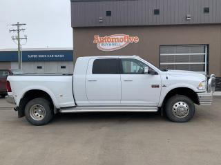 Used 2011 RAM 3500 Laramie Mega Cab 4WD for sale in Stettler, AB