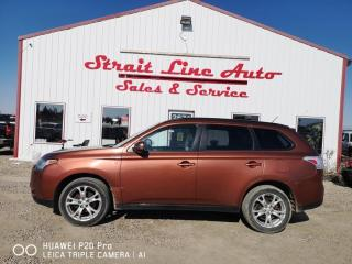 Used 2014 Mitsubishi Outlander SE for sale in North Battleford, SK