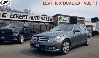 Used 2012 Mercedes-Benz C-Class C 250/4MATIC/LEATHER/DUAL EXHAUST!! for sale in Barrie, ON