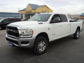 Used 2019 RAM 3500 Big Horn CrewCab 4X4 6.7L Cummins Diesel 8ft Box for sale in Brantford, ON