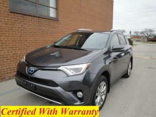 Used 2016 Toyota RAV4 Limited HYBRID for sale in Oakville, ON