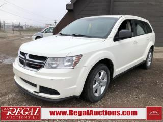 Used 2013 Dodge Journey CVP 4D Utility 5 PASS 2WD 2.4L for sale in Calgary, AB