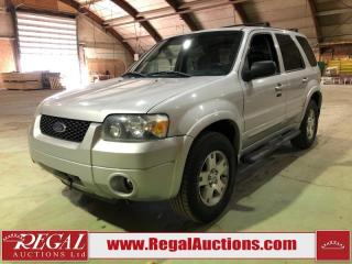 Used 2006 Ford Escape Limited 4D Utility for sale in Calgary, AB