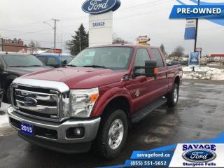 Used 2015 Ford F-250 Super Duty SRW XLT  - Diesel Engine - Rear View Camera for sale in Sturgeon Falls, ON