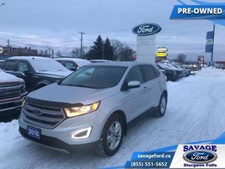 Used 2016 Ford Edge SEL   - Leather Seats - Navigation for sale in Sturgeon Falls, ON