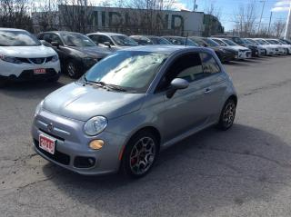 Used 2015 Fiat 500 2dr HB Sport for sale in Ottawa, ON