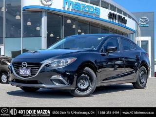 Used 2016 Mazda MAZDA3 GX |ONE OWNER|NO ACCIDENTS|FINANCING AVAILABLE for sale in Mississauga, ON