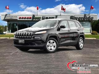 Used 2017 Jeep Cherokee FWD Sport for sale in Cornwall, ON