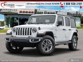 New 2020 Jeep Wrangler Unlimited Sahara for sale in Cornwall, ON