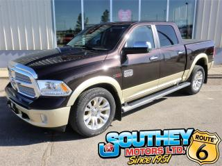 Used 2016 RAM 1500 Longhorn 4x4 - Only 51,000 km's for sale in Southey, SK