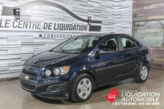 Used 2015 Chevrolet Sonic LT+A/C+GR/ELEC+BLUETOOTH for sale in Laval, QC