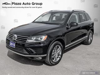 Used 2015 Volkswagen Touareg 3.0 TDI for sale in Bolton, ON