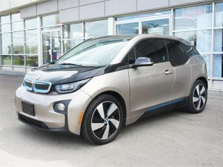 Used 2015 BMW i3 Base / DC fast charging/ Navigation/ Park Assist/Camera/ Winter rims and tires for sale in Mississauga, ON