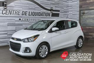 Used 2017 Chevrolet Spark LT+MAGS+A/C+CAM/REC+BLUETOOTH for sale in Laval, QC