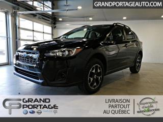 Used 2018 Subaru XV Crosstrek Commodité CVT for sale in Rivière-Du-Loup, QC