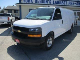 Used 2019 Chevrolet Express 3/4 TON CARGO MOVING 2 PASSENGER 4.3L - V6.. FACTORY WARRANTY.. EXTENDED-CARGO.. BACK-UP CAMERA.. KEYLESS ENTRY.. TOW SUPPORT.. for sale in Bradford, ON