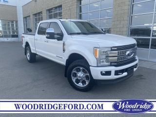Used 2017 Ford F-350 Platinum 6.7L, DIESEL,  NAVIGATION, SUNROOF, LEATHER HEATED SEATS, REMOTE STARTER, BACK UP CAMERA. for sale in Calgary, AB