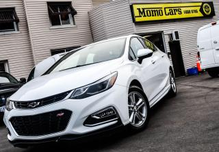 Used 2017 Chevrolet Cruze RS! DIESEL! Fully loaded! Only $137/Biweekly! for sale in St. Catharines, ON