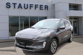 New 2020 Ford Escape Titanium Hybrid for sale in Tillsonburg, ON