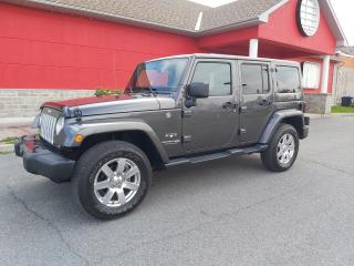 Used 2018 Jeep Wrangler Sahara for sale in Cornwall, ON