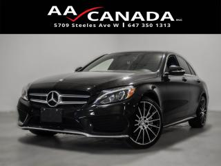 Used 2015 Mercedes-Benz C-Class C 400 100% ACCIDENT FREE for sale in North York, ON