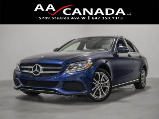 Used 2017 Mercedes-Benz C-Class 100% ACCIDENT FREE for sale in North York, ON
