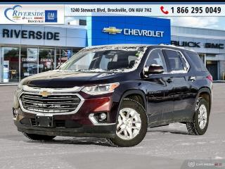 Used 2018 Chevrolet Traverse LT Cloth for sale in Brockville, ON