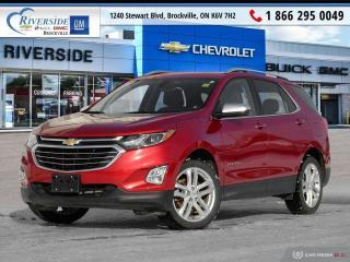 Used 2018 Chevrolet Equinox Premier for sale in Brockville, ON