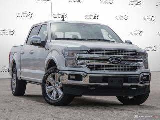 Used 2019 Ford F-150 3.5L EcoBoost V6|Lariat|4X4|Supercrew|10 Spd Auto|Navigation|Heated Steering Wheel|Heated Front and for sale in Oakville, ON