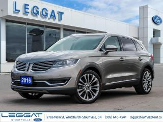 Used 2016 Lincoln MKX Reserve for sale in Stouffville, ON