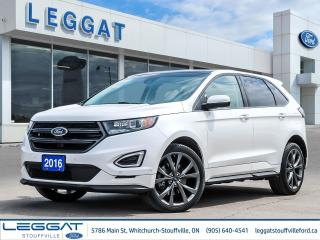 Used 2016 Ford Edge SPORT for sale in Stouffville, ON