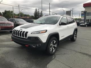Used 2015 Jeep Cherokee Trailhawk 4X4 for sale in Sherbrooke, QC