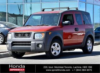 Used 2004 Honda Element Y Package PROPRE AC*AUTO*RARE*GROUPE ELECTRIQUE*++ for sale in Lachine, QC