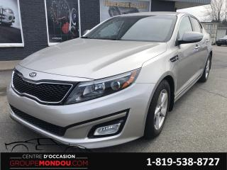 Used 2014 Kia Optima Berline 4 portes, boîte automatique LX for sale in St-Georges-de-Champlain, QC