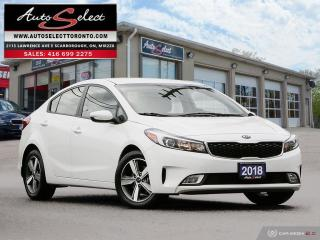 Used 2018 Kia Forte LX+ ONLY 56K! **BACK-UP CAMERA** CLEAN CARPROOF for sale in Scarborough, ON
