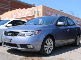 Used 2010 Kia Forte SX for sale in Whitby, ON