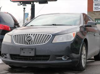Used 2010 Buick LaCrosse CXL V6 for sale in Whitby, ON