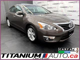 Used 2014 Nissan Altima SL+GPS+Camera+Blind Spot+Lane Assist+Leather+Sunro for sale in London, ON