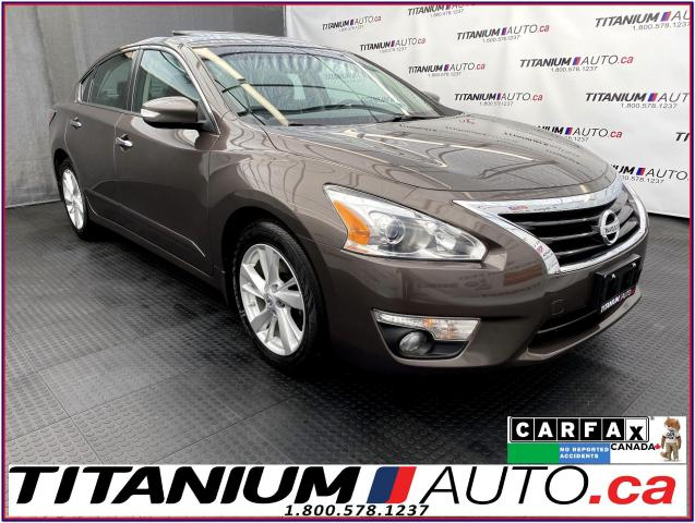 2014 Nissan Altima SL+GPS+Camera+Blind Spot+Lane Assist+Leather+Sunro