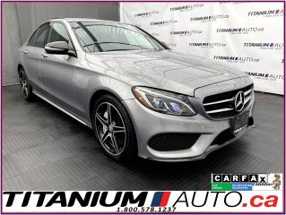 Used 2016 Mercedes-Benz C-Class Night & AMG Sport PKG+GPS+Camera+Pano+Blind Spot+ for sale in London, ON