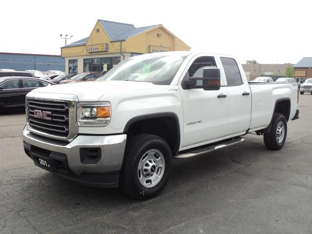 2017 GMC Sierra 2500 WT DoubleCab 4x4 6.0L 8ft Box