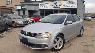 Used 2013 Volkswagen Jetta TDI w/Premium/Nav for sale in Etobicoke, ON