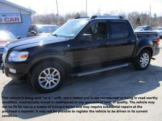 Used 2007 Ford Explorer Sport Trac LIMITED for sale in North Bay, ON
