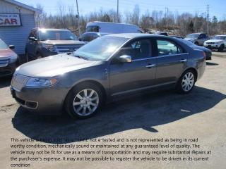 Used 2010 Lincoln MKZ for sale in North Bay, ON