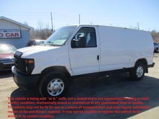 Used 2012 Ford Econoline Cargo Van Commercial for sale in North Bay, ON
